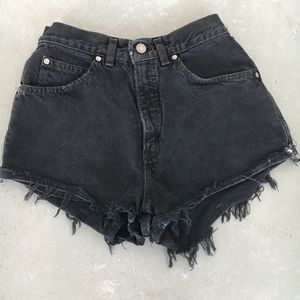 Vintage Levi Cheeky Highrise Shorts